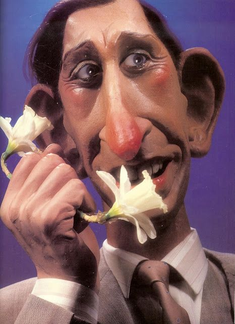 """A gallery of grotesque celebrity puppets from """"Spitting Image"""" (1987)"""