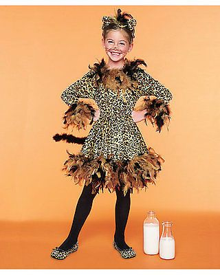 Chasing-Fireflies-leopard-cat-girls-costume-size-8-cheetah-headband-and-skirt