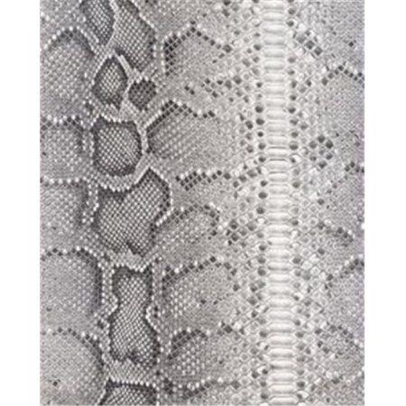 Roommates Snake Skin Greyblack Peel Stick Wallpaper In