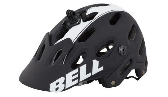 Bell Super 2 MTB helm matte zwart/wit viper
