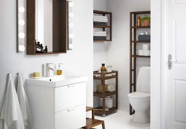 Tout Pour Une Salle De Bains Ikea Ikea Godmorgon Badezimmer Klein Und Badezimmer