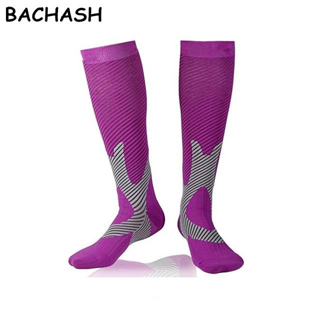 Daily Price $5.99, Buy BACHASH 15-25 mmHg Graduated Compression Socks Firm Pressure Circulation Quality Knee High Orthopedic Support Stocking Hose Sock