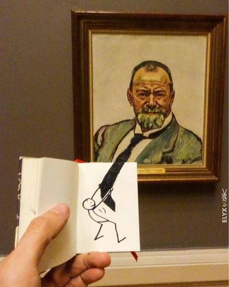 Aujourd'hui c'est #Museumselfie day et #Elyx rencontre #Hodler le maître de l'autoportrait au @mahgeneve !