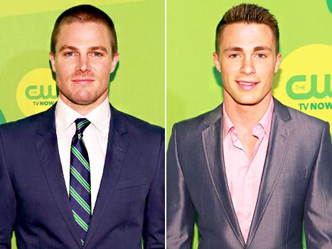Stephen Amell and Colton Haynes from Arrow... That's a good enough reason to watch~L