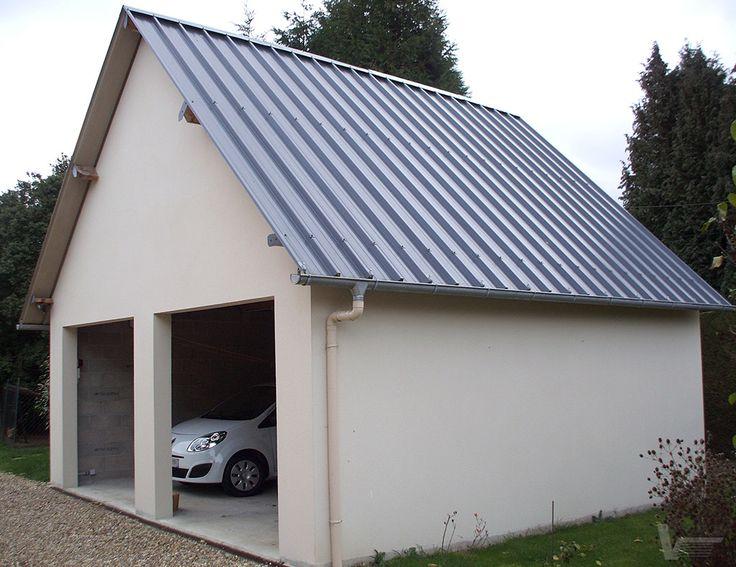 14 best abris images on Pinterest Arbors, Car shed and Home ideas - monter un garage en bois
