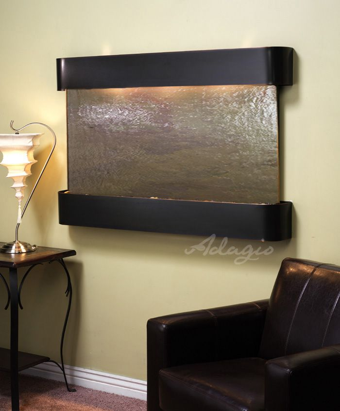 1000 images about wall water features indoor on pinterest - Indoor wall water features ...