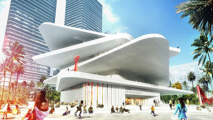 Gallery of FR-EE / Fernando Romero EnterprisE Reveals Latin American Art Museum for Miami - 7