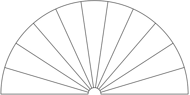 Dowsing Chart, 11 Pieces. You can use this picture to make your own Dowsing Chart, by adding any text or symbols you want.