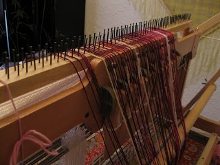 DIY Raddle for Weaving Loom