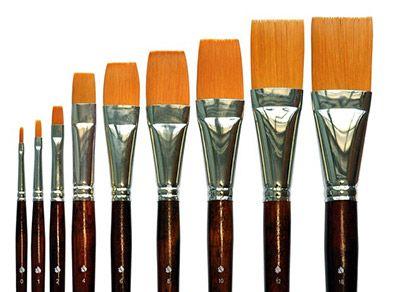 Как правильно подобрать художественные кисти? Какие кисти нужны для акриловых или масляных красок? Подробная инструкция.