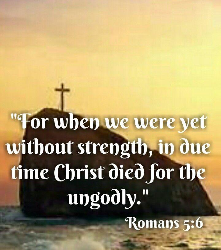 Image result for Romans 5:6 kjv