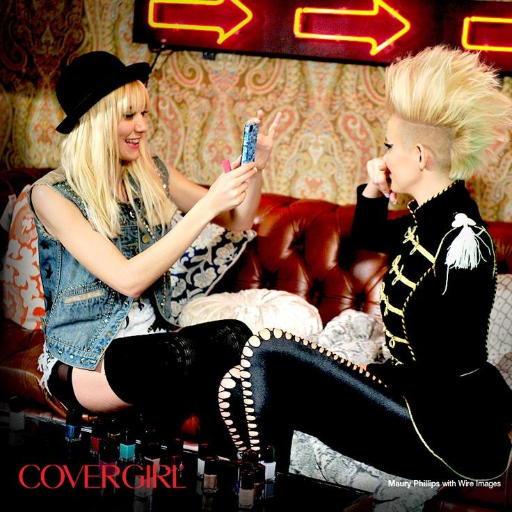Behind-the-scenes with COVERGIRLs NERVO at the Top DJ's Dance Party hosted by Rolling Stone before their big performance.