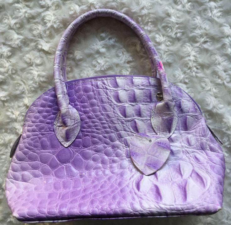 Borse in Pelle Handbag,  Light Purple. Genuine Leather . Made in Italy. #BorseInPelle #EveningBag