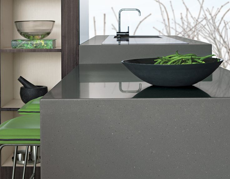 Laminex Solid Surface Cumulus My Dream Kitchen : Inspiration : Colour Trends