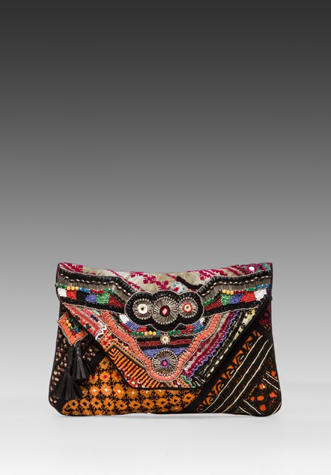 ANTIK BATIK Aeden Clutch in Multi at Revolve Clothing - Free Shipping!