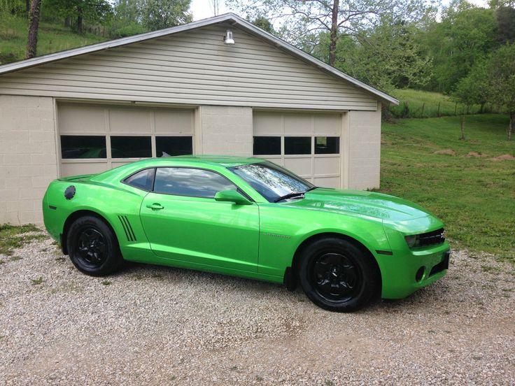 2011 Chevrolet Camaro Ls Synergy Green Rare Click To Find