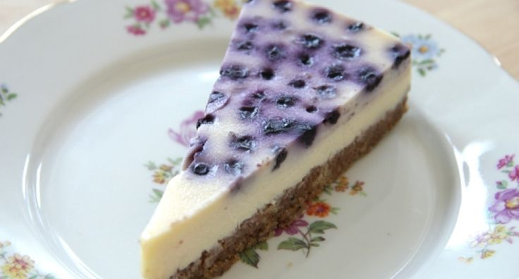 Áfonyás sajttorta recept (Blueberry Cheesecake) videó