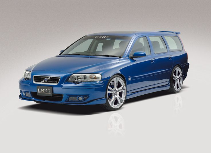 Volvo V70 R with mod's by ERST