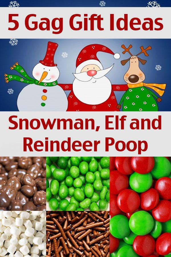 ~ Snowman Poop, Elf Poop and Reindeer Poop - Homemade Christmas Gift Ideas - 5 Gag Gift Ideas