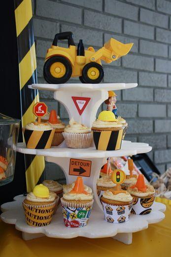 Photo 53 of 65: Construction / Birthday Davids 1st Birthday
