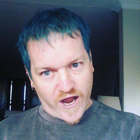 Something something blue. #Hair #Blue #AChangeWillDoYouGood