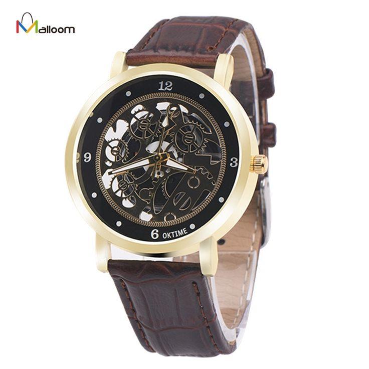 $2.33 (Buy here: https://alitems.com/g/1e8d114494ebda23ff8b16525dc3e8/?i=5&ulp=https%3A%2F%2Fwww.aliexpress.com%2Fitem%2FMechanical-Watch-Men-Top-Brand-Luxury-Relogio-Masculino-Military-Army-Clock-PU-Leather-Analog-Quartz-Neutral%2F32776021304.html ) Mechanical Watch Men Top Brand Luxury Relogio Masculino Military Army Clock PU Leather Analog Quartz Neutral Clock for just $2.33