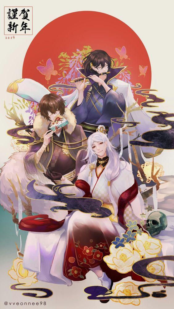 ( BSD ) Doujinshi và ảnh về bungo stray dogs Anime, Hài