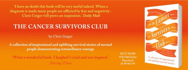 The Cancer Survivors Club published by Oneworld publishing, Bloomsbury St, London #cancer