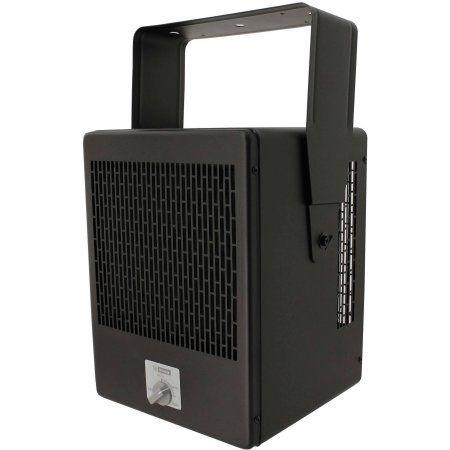 King EKB2450TB 240V 5000W Fixed Mount Garage Heater, Black