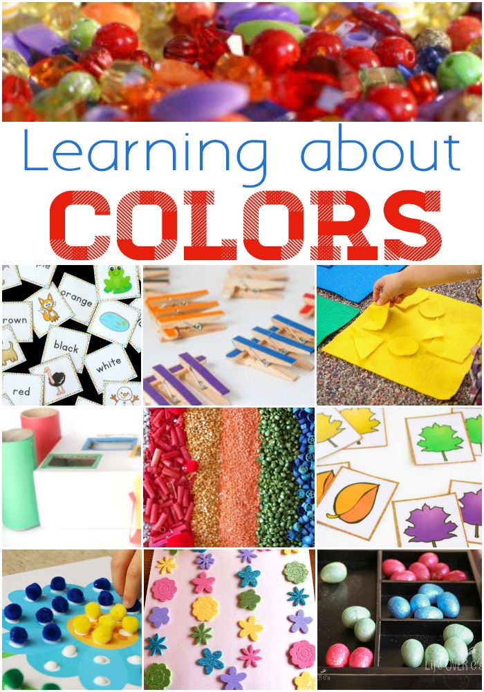 Activities for Learning Colors