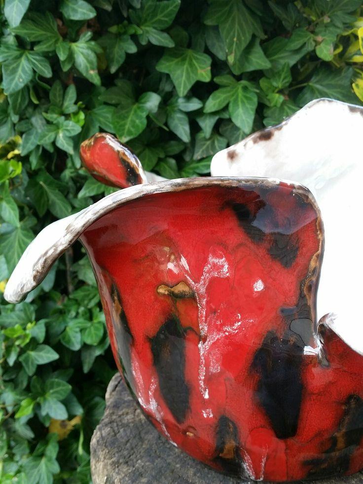 vaso in maiolica