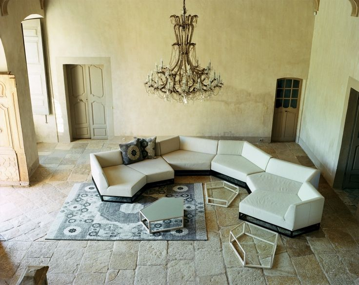 Living room with Atelier Pfister products