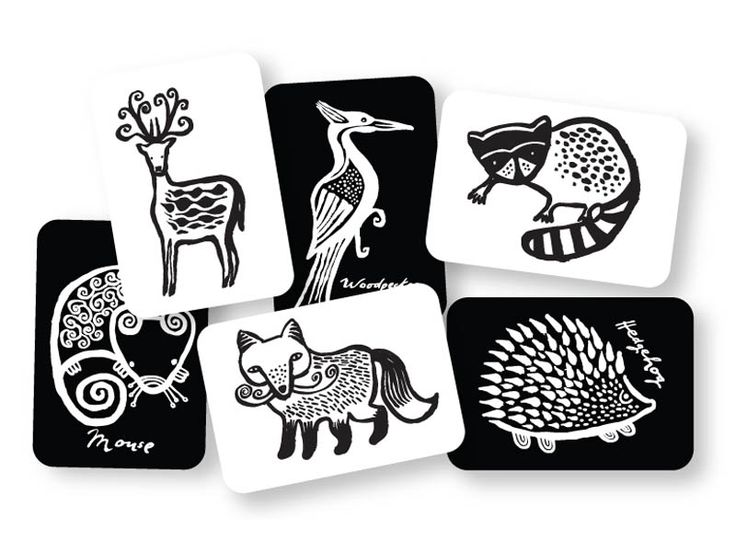 Woodland Collection Art Cards - love all the wee gallery collections