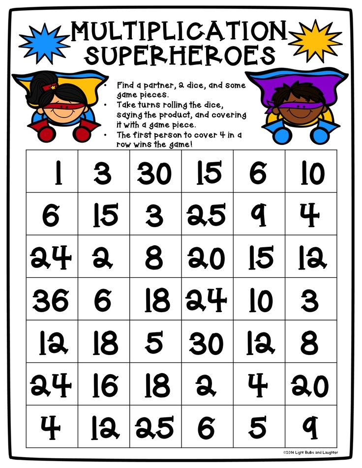 27 best Multiplication images on Pinterest | Elementary schools ...