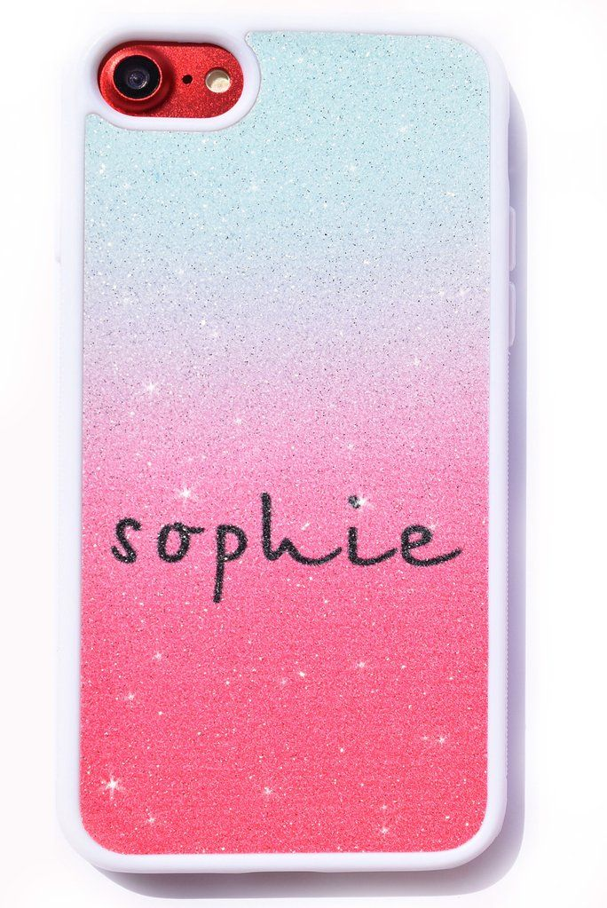 Ombre glitter personalised Phone Case