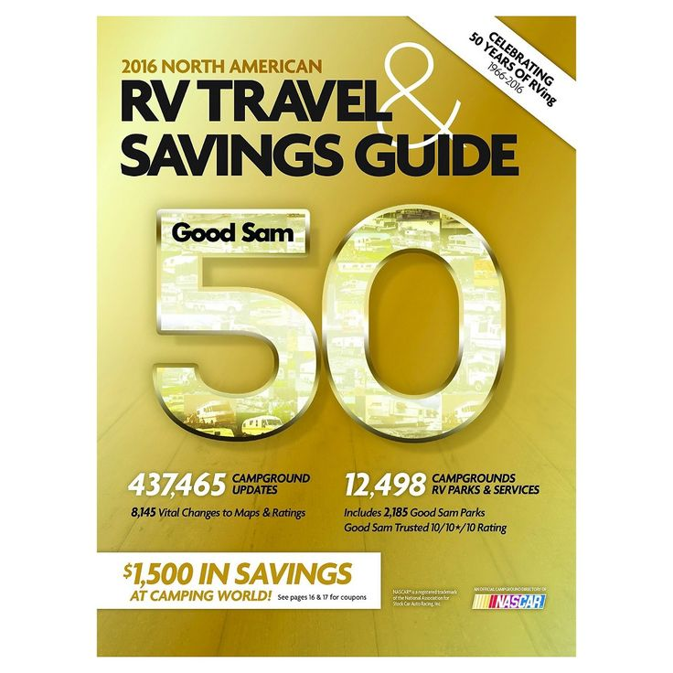 Good Sam 2016 North American RV Travel & ( Good Sams RV Travel Guide & Campground Directory)