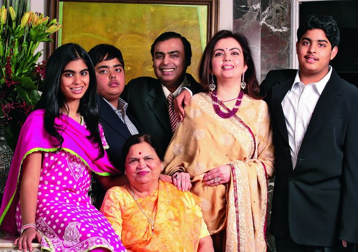 mukesh ambani | family | mukesh ambani son