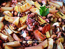 Polpo patate al forno ricetta facile secondo piatto di pesce