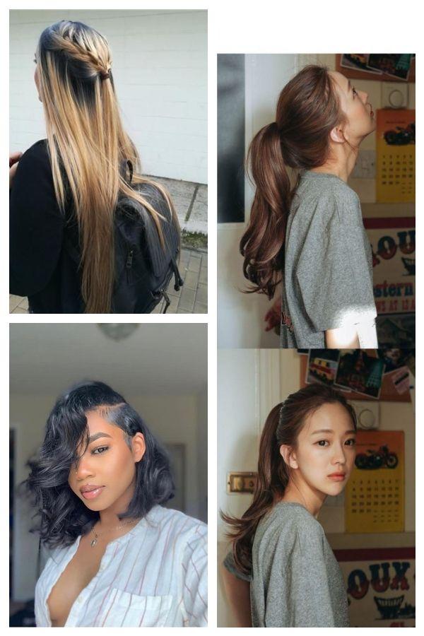 49 Super Trendy Schone Frisuren Fur Die Schule Hair Styles Beauty Dreadlocks