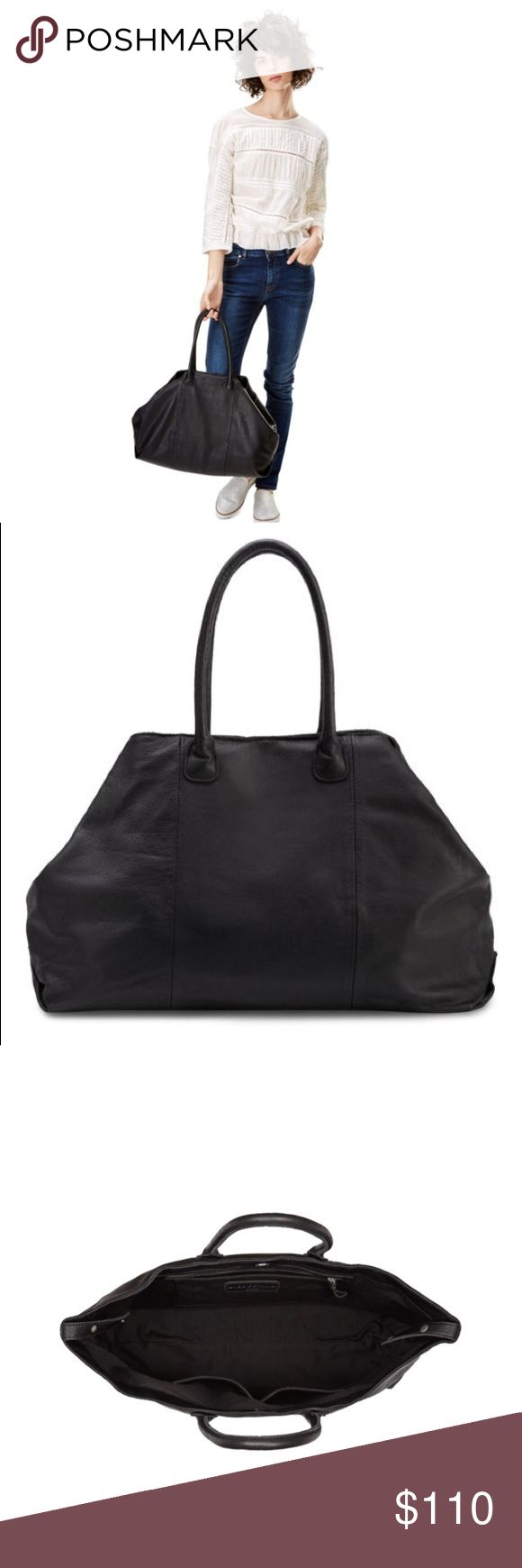 Liebeskind MillaE EUC. Black. Two tiny spots. Buttery soft 100% cowhide leather. Only selling b/c I just got another bag I will be using more. Two other colors still on sale at bluefly.com. *actual pic to be updated Liebeskind Bags Totes