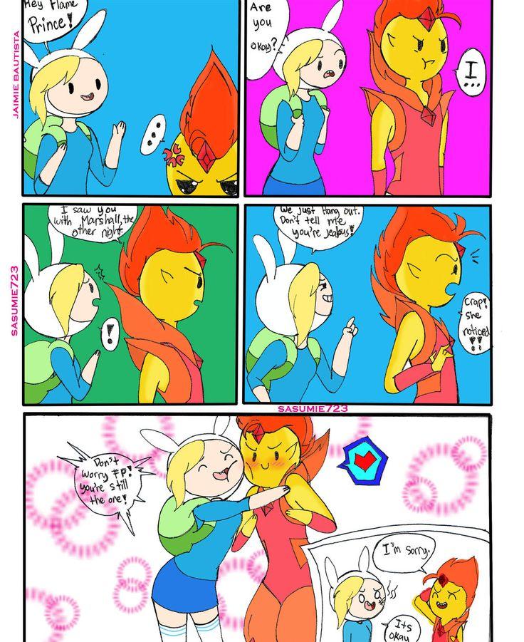 adventure time fionna and flame prince kiss wwwpixshark