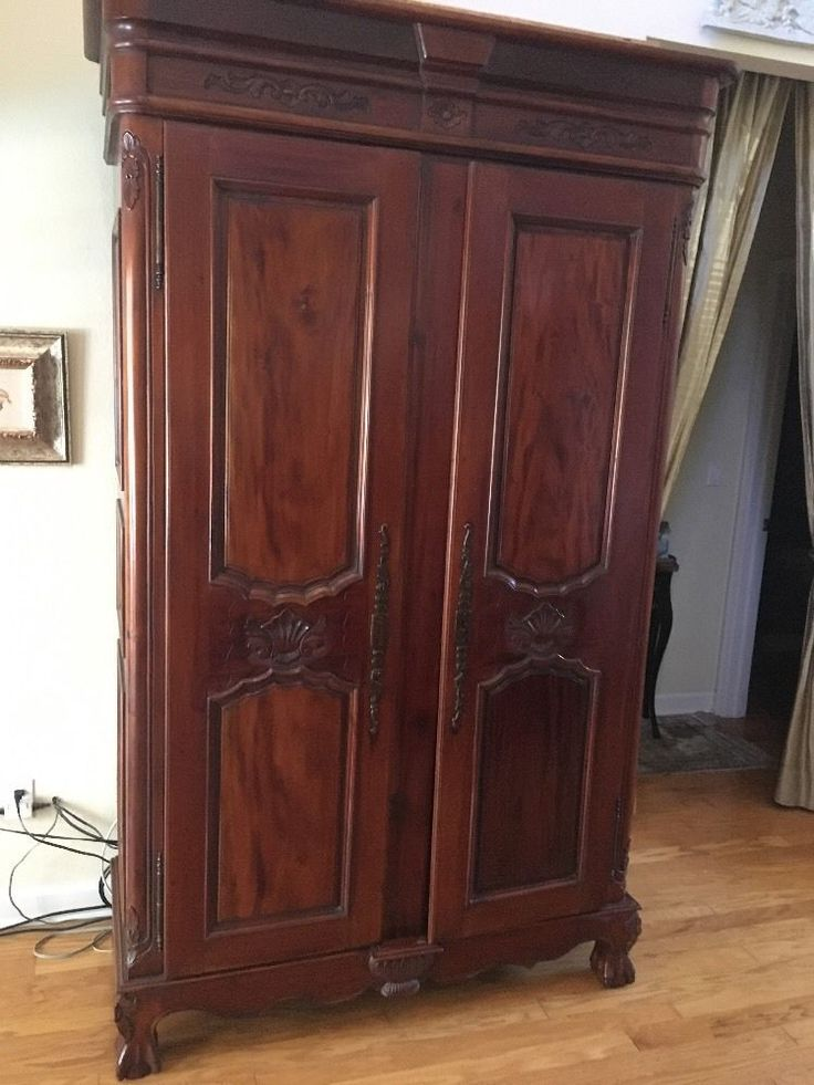 Solid Wooden Wardrobe Closets ~ Best ideas about solid wood wardrobes on pinterest