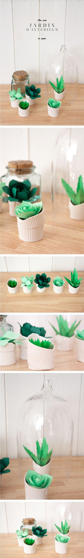 Mini cactus en papier by La Fabrique de Chalou