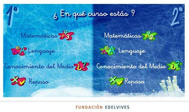 """""""Juegos Chavales 6-8"""", de la Editorial Edelvives, para 1º y 2º Niveles de Educación Primaria, desarrolla las competencias propias de estos niveles en Matemáticas, Lengua, Conocimiento del Medio y Repaso, en tres trimestres cada uno y con ocho juegos por trimestre. Todo ello de forma atractiva y divertida."""