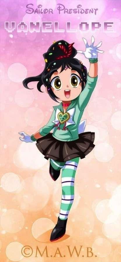 rap el demoledor fuera mejor anime dale me gusta si seria mejor disney anime . vanellope