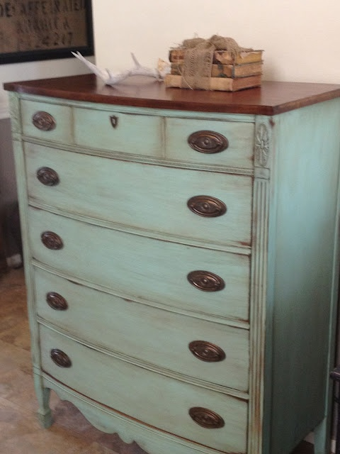 Paint that chest of drawers you love so much!