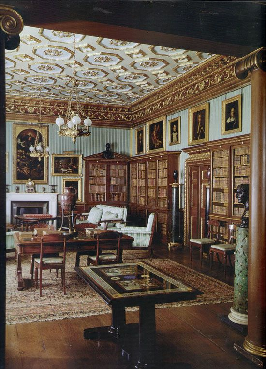 English Study Room: 44 Best Images About Georgian Homes: Library & Study On