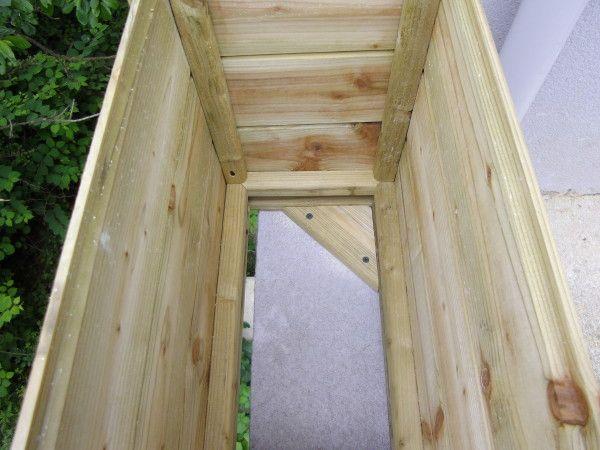 Fabrication d'une jardinière en bois