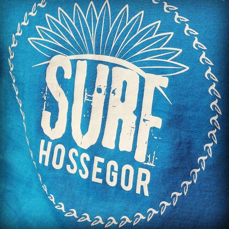 Tshirt Zawaï Surf Hossegor, notre capital européenne. #surf #Tshirt #hossegor
