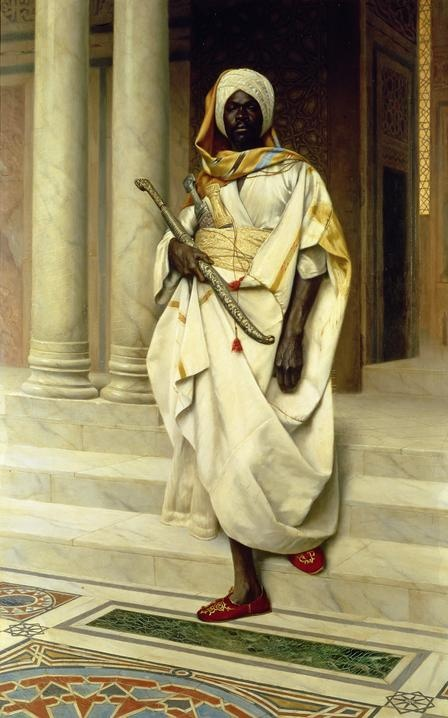 The Emir's Guard by Ludwig Deutsch